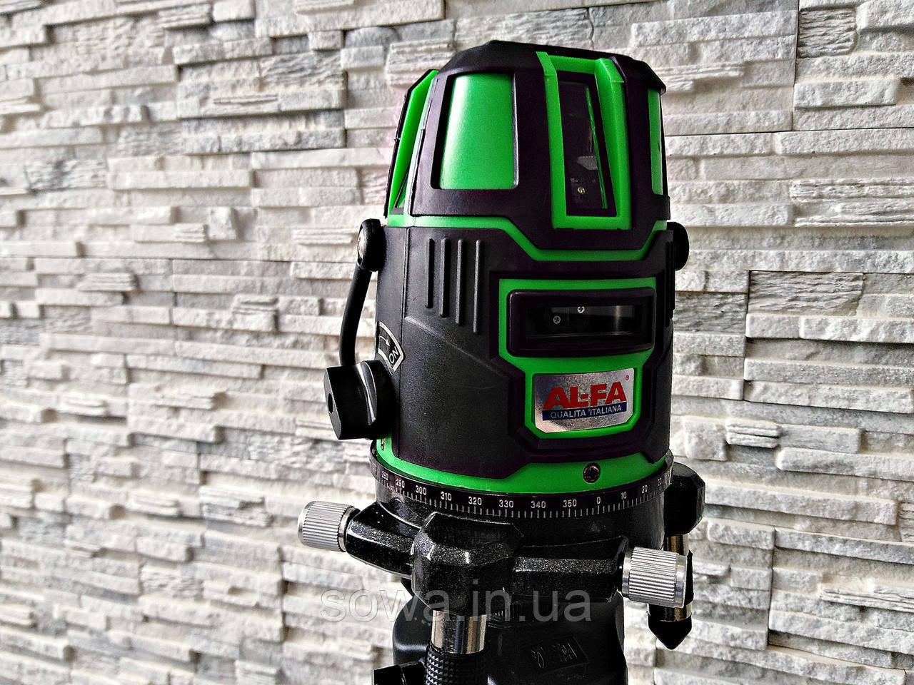 ✔️ Лазерный уровень, нивелир AL-FA ALNL02