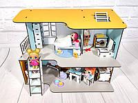 Пляжный домик с мебелью и текстилем