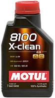 Моторное масло Motul 8100 X-clean 5W-30-C3 (1L)
