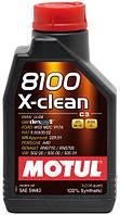 Моторное масло Motul 8100 X-clean 5W-40-C3 (1L)