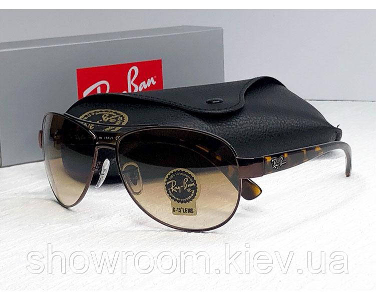 Солнцезащитные мужские очки в стиле RAY BAN 3386 014/51 Lux