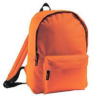 Городской рюкзак. Молодёжный рюкзак. Оранжевый рюкзак. Студенческий рюкзак. Рюкзаки.