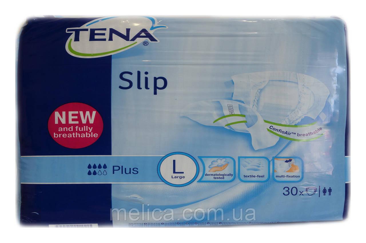 Подгузники для взрослых  Tena Slip Plus Large (3) -30 шт.