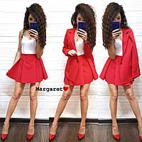 f755a8db4fd8 Женский классический костюм пиджак и юбка