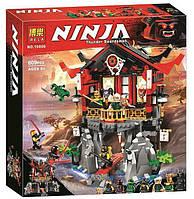 """Детский Конструктор, конструктор для мальчиков  Bela Ninja 10806 """"Храм воскресения"""" (809 дет)"""