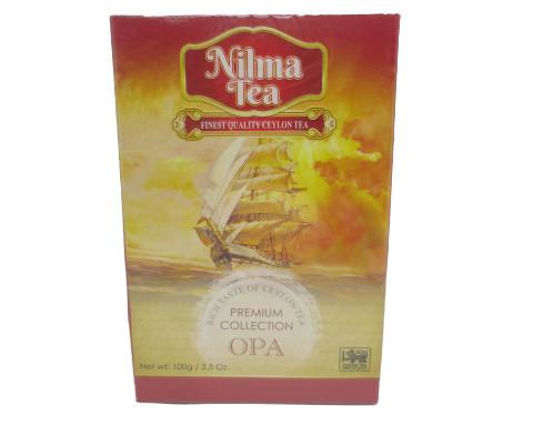 Чай чёрный Nilma Tea OPA Крупно-листовой 100 гр.