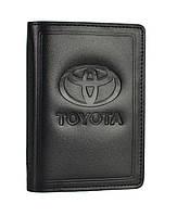 Обкладинка документів водія SaLeather Toyota 5062-041, фото 1