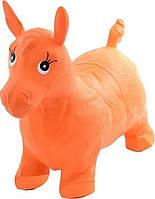 Надувной Прыгун-лошадка MS 0001Red (Оранжевый)