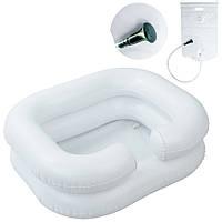Ванночка для мытья головы с резервуаром и лейкой