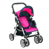 Детская коляска для кукол, игрушечная коляска, летняя Melogo 9352, розовая