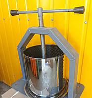 Пресс винтовой для сока объем 10 литров усиленная платформа Харьков Украина, фото 1