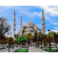 Картина по номерам Стамбул.Голубая мечеть 40Х50 Babylon VP485