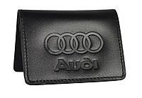 Обкладинка для ID карток, посвідчення водія, тех паспорта Audi 5164-040