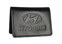 Обкладинка документів водія SaLeather Hyundai 5164-048, фото 1