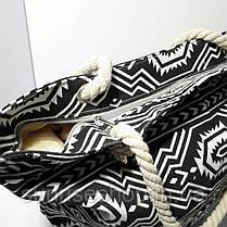 Пляжная сумка текстильная большая опт и розница, фото 2
