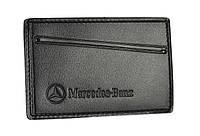 Обкладинка для посвідчення водія/тех паспорта Mercedes-Benz SaLeather 5014-035, фото 1