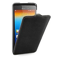 Кожаный чехол (флип) TETDED для Lenovo S930  чёрный