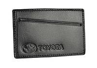 Обкладинка для посвідчення водія/тех паспорта Toyota 5014-041, фото 1