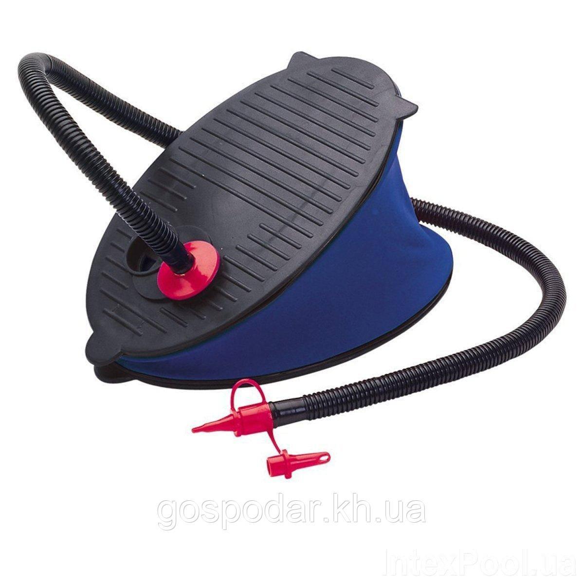 Ножной насос для надувания Intex 69611, объем 3 л, 28 см.