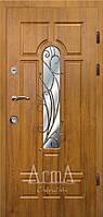 Двери входные Арма дуб натуральный тип 3 модель 105 № 11 квартира