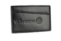 Обкладинка для посвідчення водія/тех паспорта Volkswagen SaLeather 5014-031, фото 1
