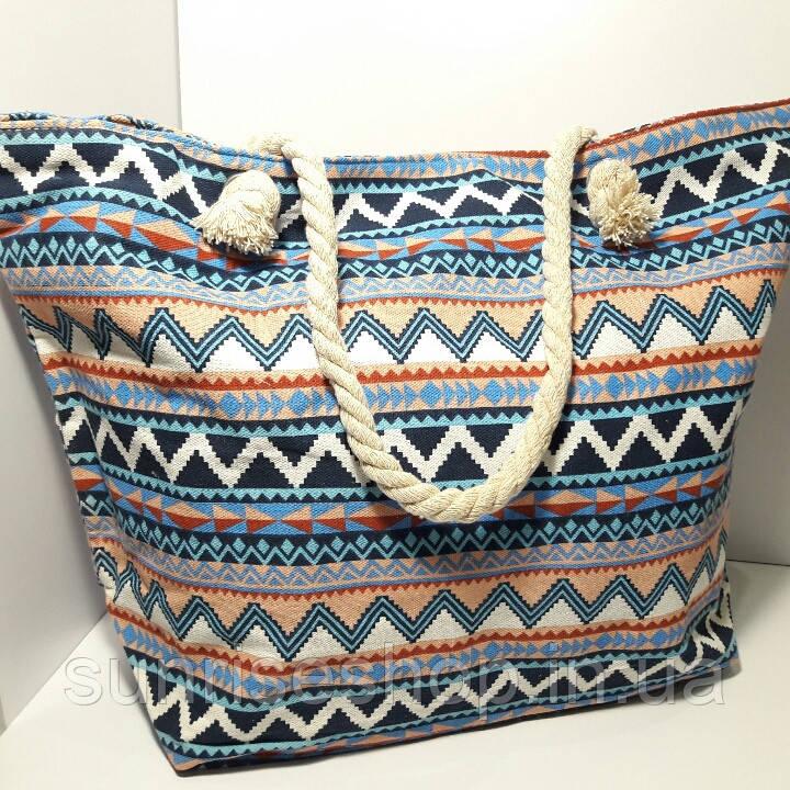 Пляжная сумка текстильная летняя большая  опт и розница