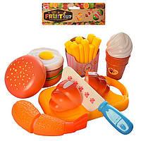 Вкусняшки на липучках,игрушечные продукты на липучках, режутся пополам!еда на липучках