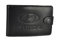Візитниця-кардхолдер Hyundai SaLeather 4002-048, фото 1