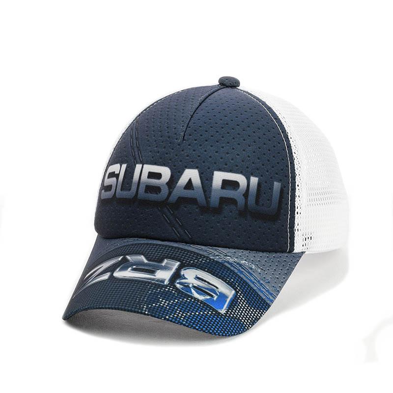 """Бейсболка """"Subaru"""" з білою сіткою"""