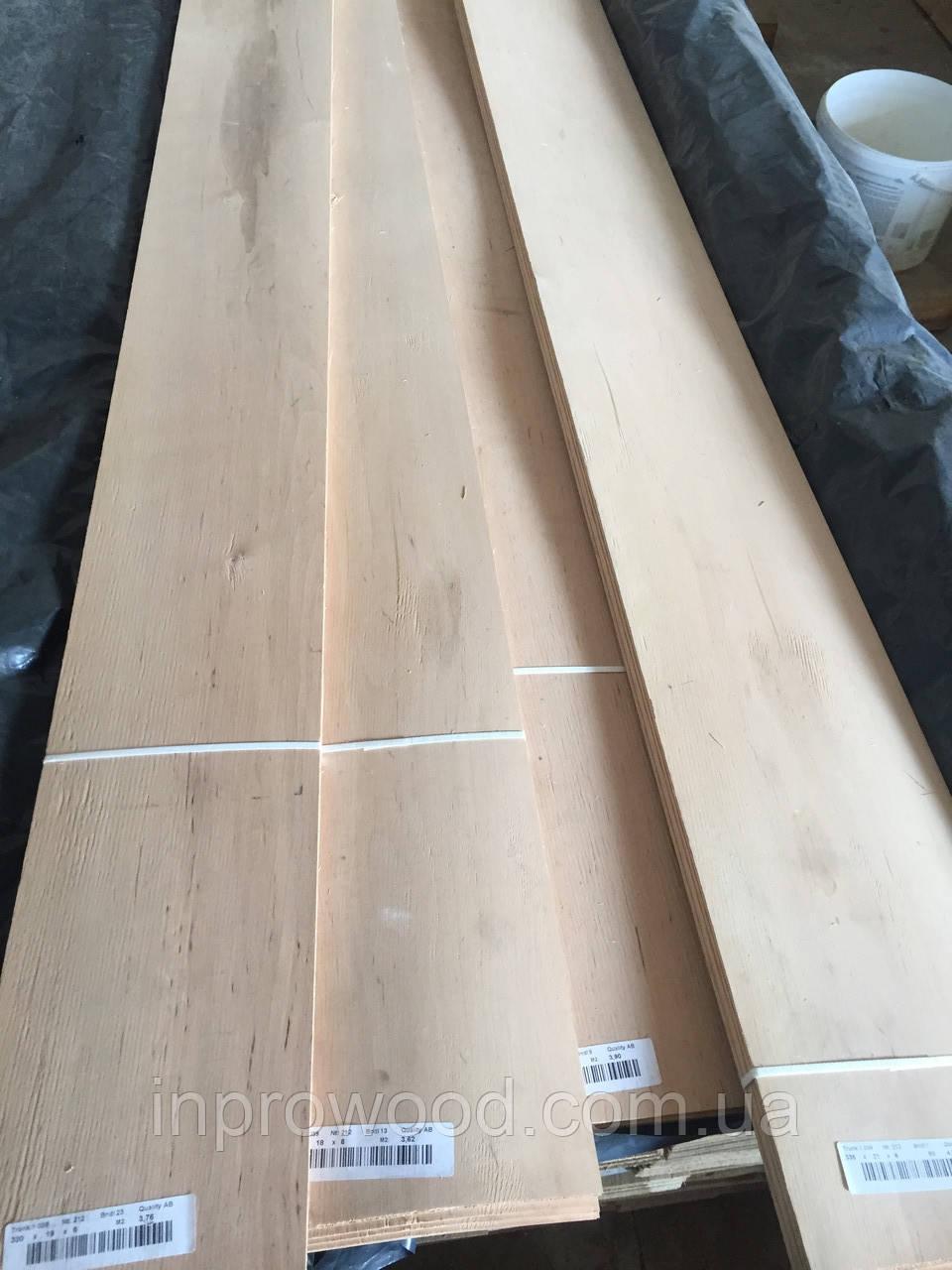 Шпон (Ламель) Вільха 2,5 мм від 1500 до 2800м