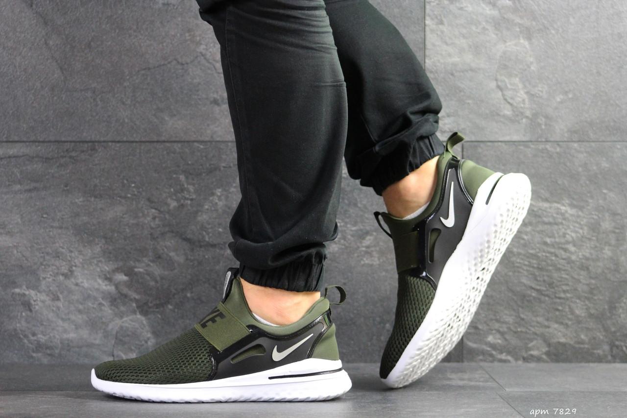 e903613d Мужские Кроссовки Nike Renew Rival (реплика), Зеленые (7829) — в ...