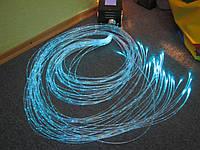 Комплект оптических волокон бокового свечения