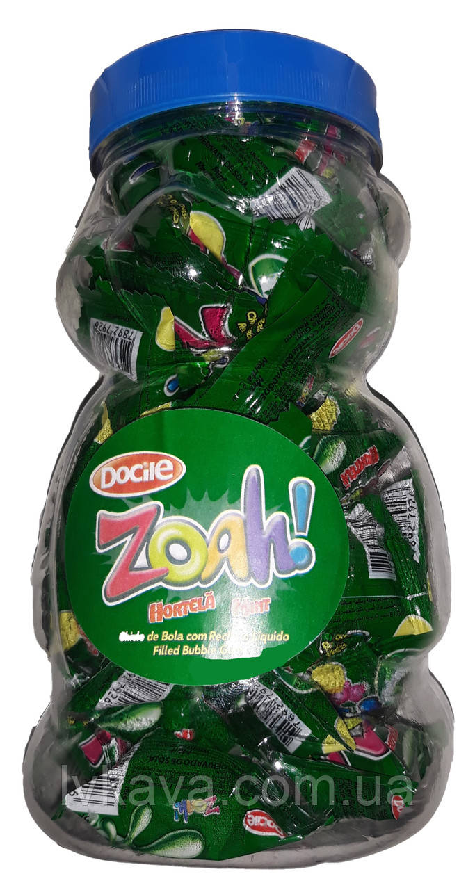 Жевательная резинка  Zoah мята , 5,5  гр х 40 шт