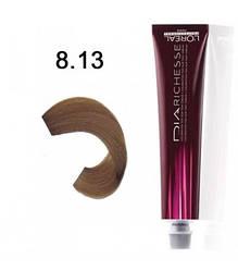Краска для волос LOreal Professionnel  Dia Richesse 8.13 блондин пепельно-бежевый 50 мл