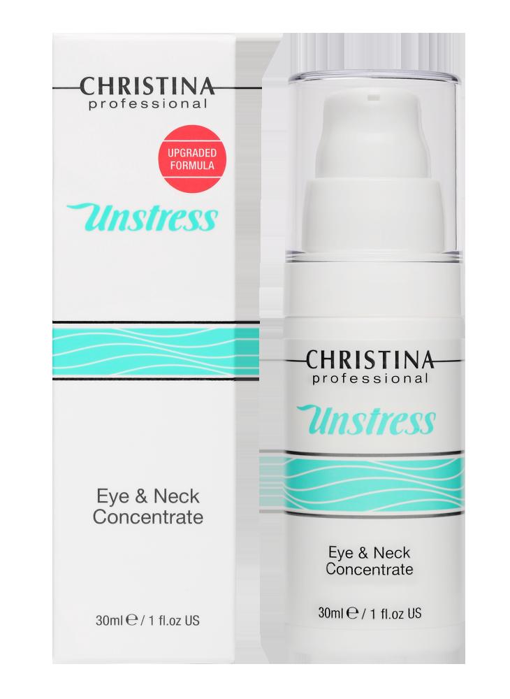 Анстресс Концентрат для кожи вокруг глаз и шеи Unstress Eye and Neck Concetrate, 30 мл