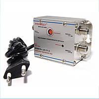 Усилитель домовой PROWEST LB-171-2 (IN 1 OUT 2 20dB) для кабельного и эфирного телевидения Питание 220В Частотный диапазон 45-1000 МГц