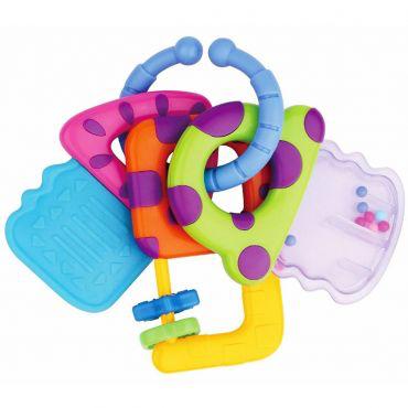 Детская погремушка для новорожденных в виде ключиков baby mix