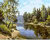 Раскраска по номерам Летний полдень (VP400) 40 х 50 см