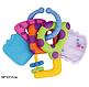 Детская погремушка для новорожденных в виде ключиков baby mix, фото 3