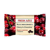 Мыло косметическое (Вишня и шоколад) - Fresh Juice Cherry & Chocolate