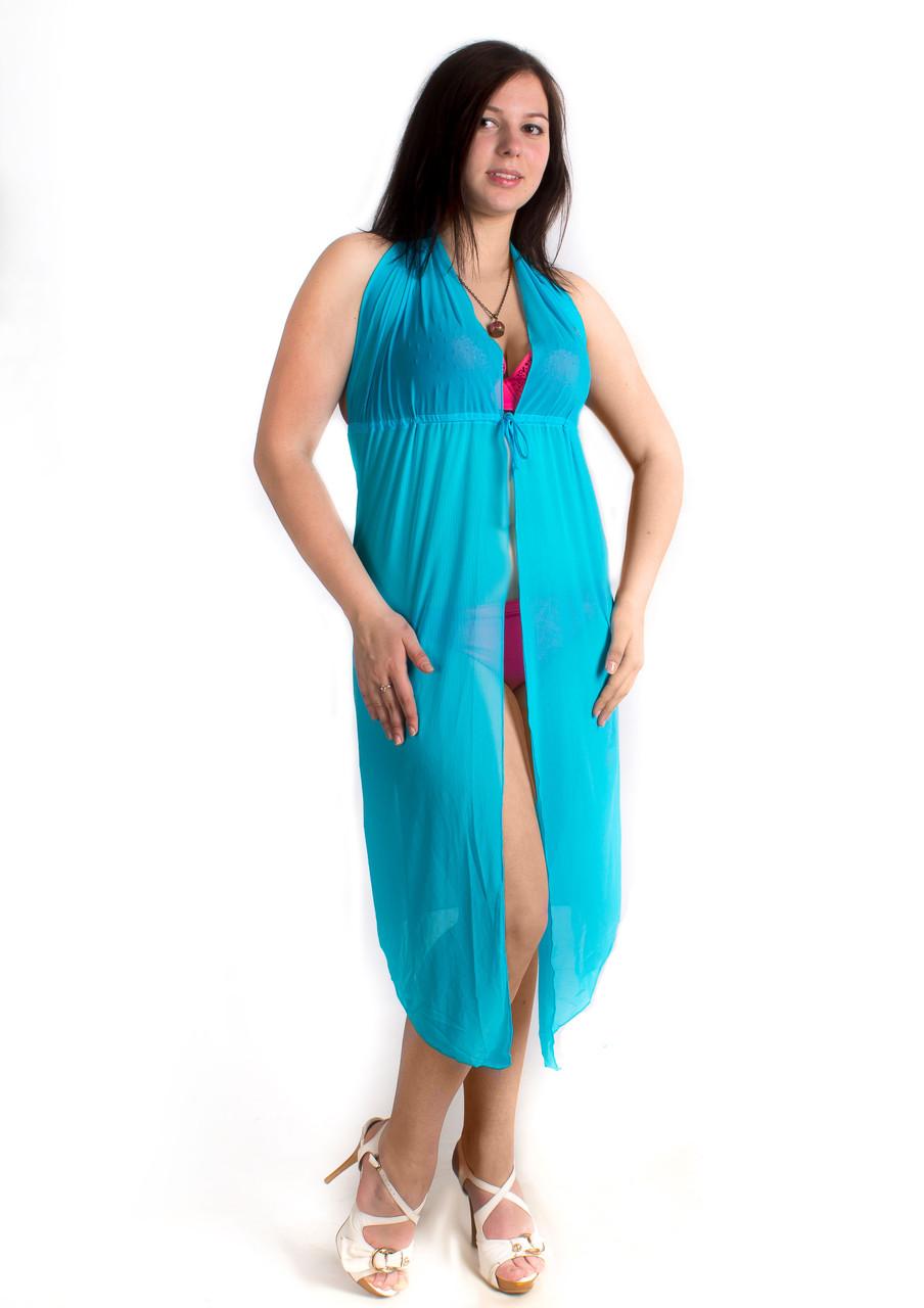 Туника пляжная сарафан с открытой спиной, опт 160 грн