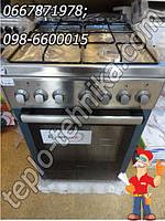 Новая  газовая плита с электрической духовкой GORENJE K57220AX.  АКЦИЯ !!!