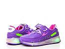 Детские светящиеся кроссовки LED на девочку бренда BBT Размер 28, фото 2