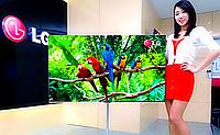 Компания LG продемонстрировала 55-дюймовую OLED панель толщиной 1 мм