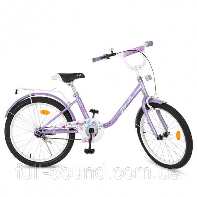 """Детский велосипед Profi Flower 20"""""""
