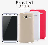 Чехол для Huawei Ascend GX1 - Nillkin Super Frosted Shield (пленка в комплекте)