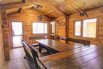 При заказе у нас деревянного дома или бани - 15% скидка на мебель нашего производства!