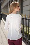 Стильная женская блуза из креп-шифона, фото 3