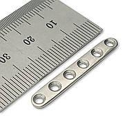 Пластина п'ясткова (сталь) D = 2,0 мм, 6 отв,