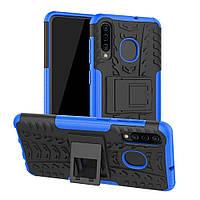 Чехол Armor для Samsung A50 2019 / A505F бампер противоударный синий